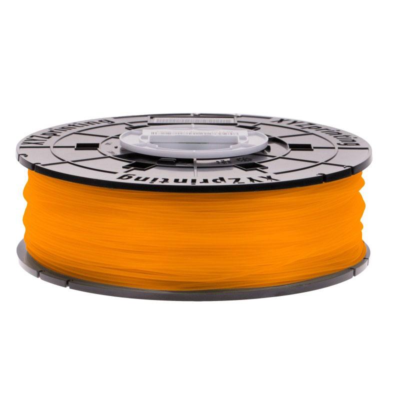 Filament 3D XYZprinting Filament PLA (600 g) - Mandarine Bobine de filament 1.75mm pour imprimante 3D Nano, Mini, Junior