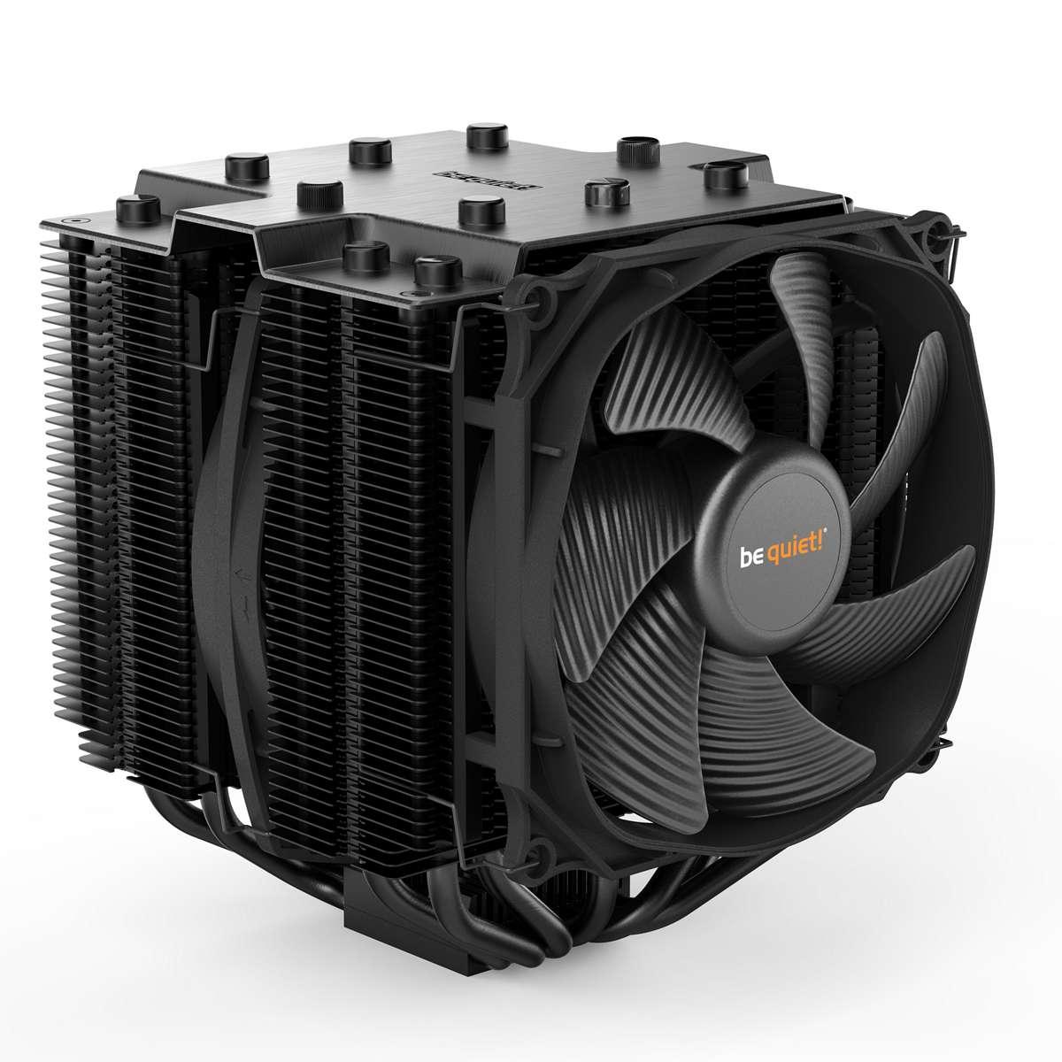 Ventilateur processeur be quiet! Dark Rock PRO 4 Ventilateur de processeur (pour Socket AMD AM2/AM2+/AM3/AM3+/AM4/FM1/FM2 et INTEL LGA 1150/1151/1155/1156/1366/2011/2066)
