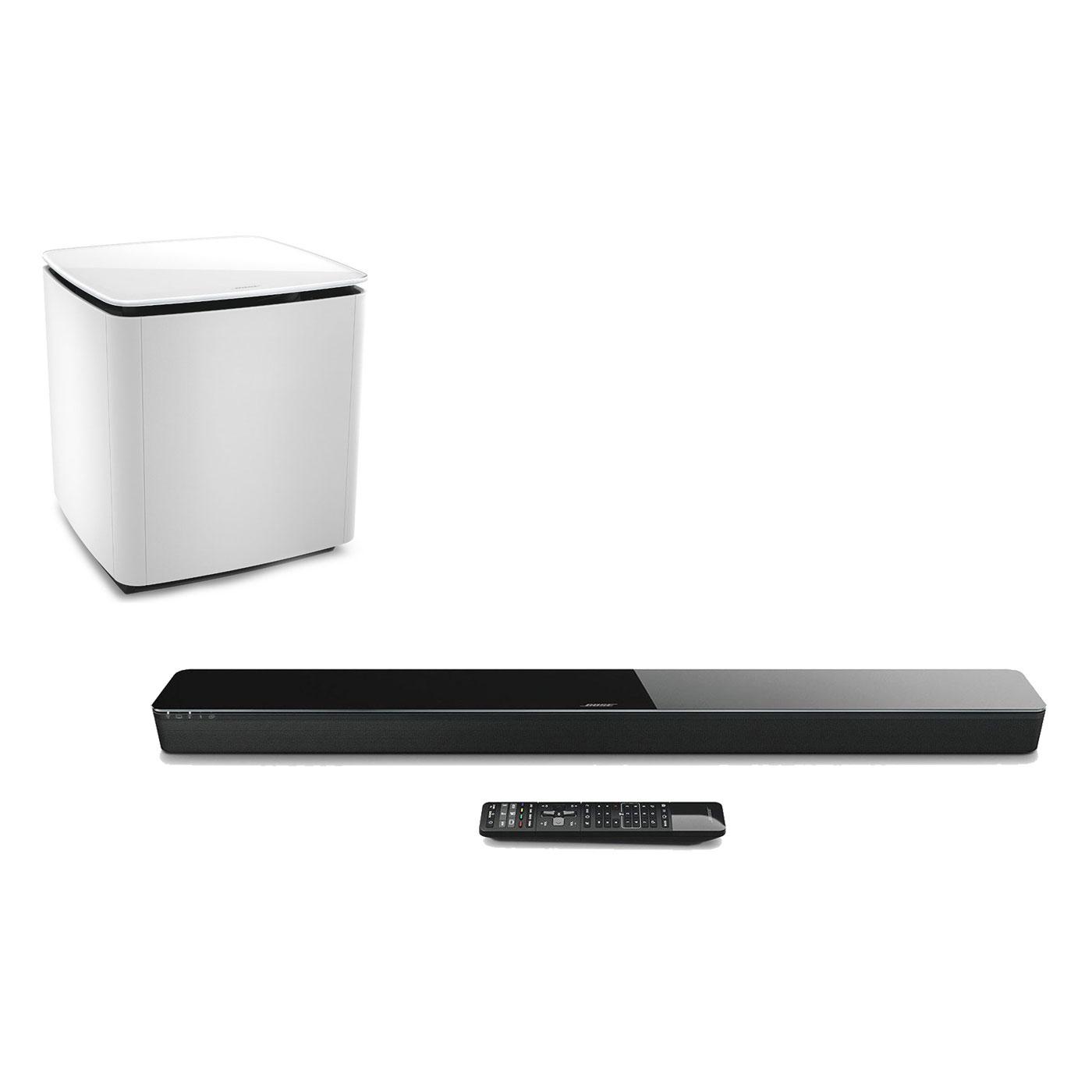 bose soundtouch 300 acoustimass 300 blanc barre de son bose sur. Black Bedroom Furniture Sets. Home Design Ideas