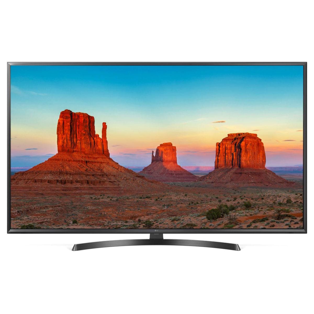 "TV LG 50UK6470 Téléviseur LED 4K 50"" (127 cm) 16/9 - 3840 x 2160 pixels - Ultra HD 2160p - HDR - Wi-Fi - Bluetooth - 1600 Hz"