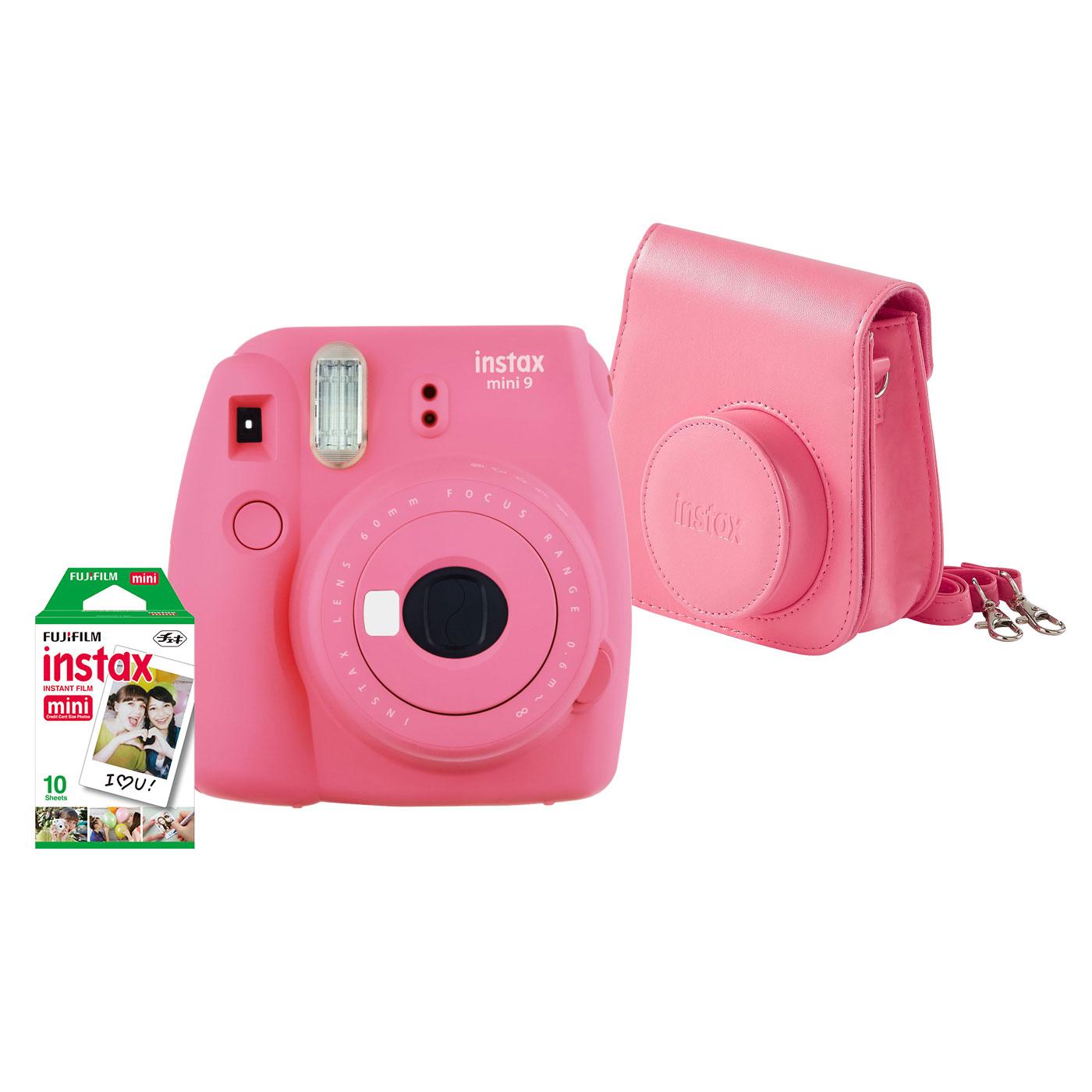Fujifilm Pack Instax Mini 9 Rose Appareil Photo Numerique Fujifilm
