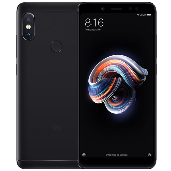 "Mobile & smartphone Xiaomi Redmi Note 5 Noir (64 Go) Smartphone 4G-LTE Dual SIM - Snapdragon 636 Octo-Core 1.8 GHz - RAM 4 Go - Ecran tactile 5.99"" 1080 x 2160 - 64 Go - NFC/Bluetooth 5.0 - 4000 mAh - Android 8.1"