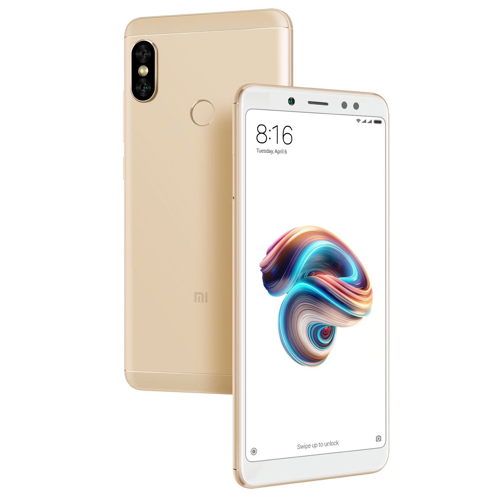 "Mobile & smartphone Xiaomi Redmi Note 5 Or (4 Go / 64 Go) Smartphone 4G-LTE Dual SIM - Snapdragon 636 Octo-Core 1.8 GHz - RAM 4 Go - Ecran tactile 5.99"" 1080 x 2160 - 64 Go - NFC/Bluetooth 5.0 - 4000 mAh - Android 8.1"