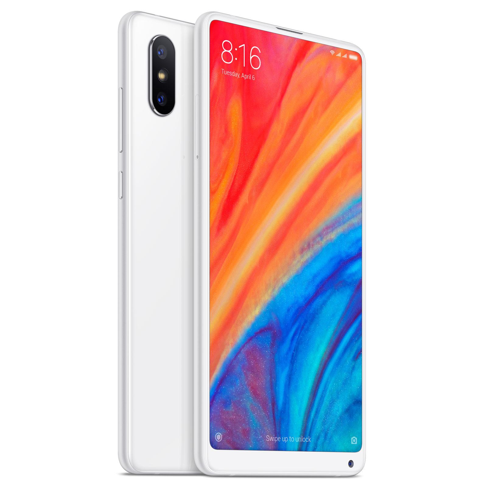 Mobile Smartphone Xiaomi Mi Mix 2S Blanc 64 Go 4G LTE