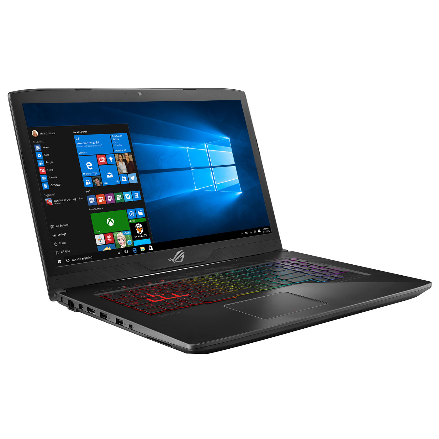 ASUS ROG Station GL703GM-EE056R Intel Core i7-8750H 32 Go SSD 256 Go + SSHD  1 To 17.3