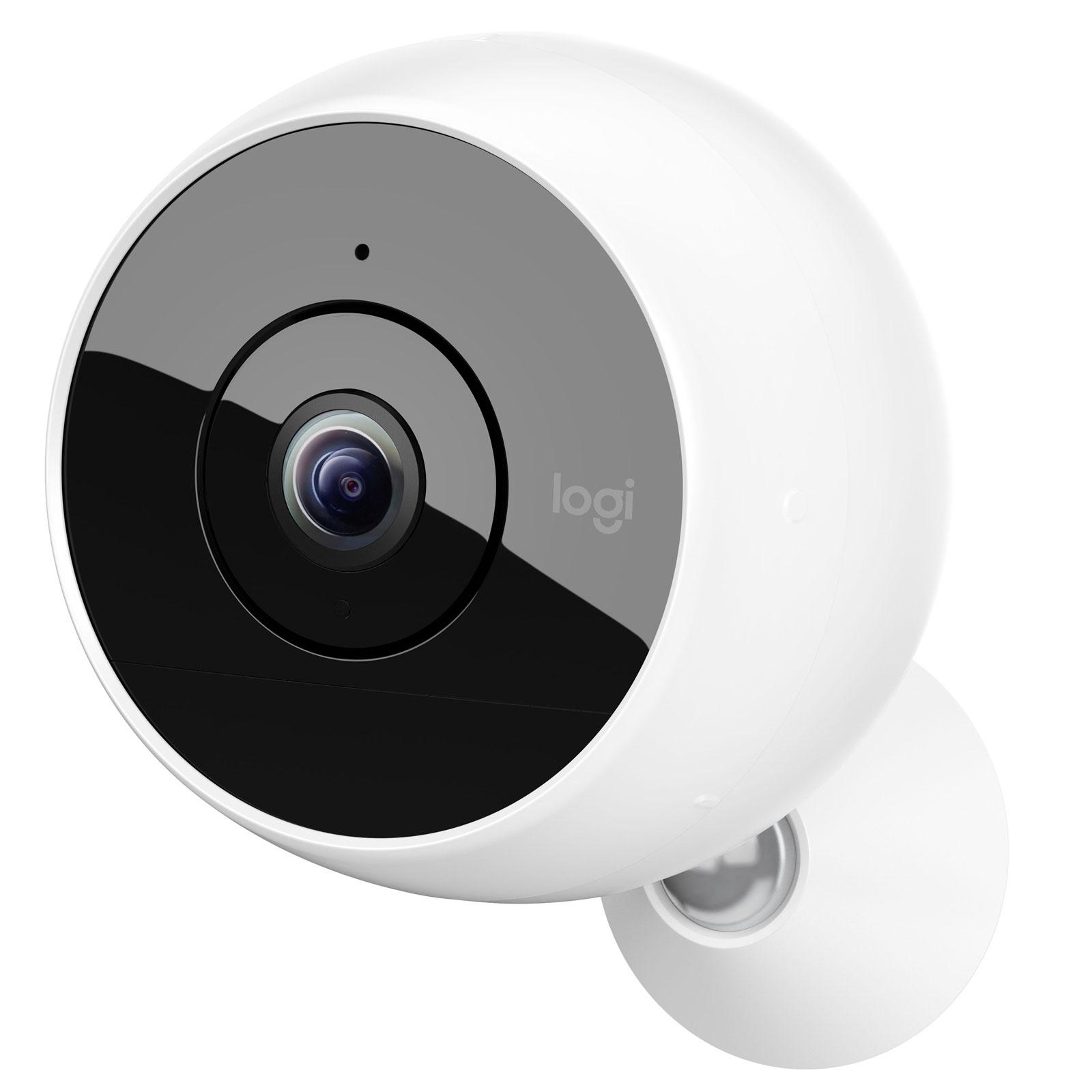 Logitech circle 2 wireless blanc cam ra de surveillance for Logitech camera exterieur
