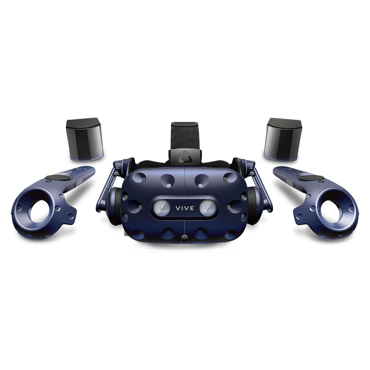 Casque Réalité Virtuelle HTC Vive Pro Complete Edition Casque de réalité virtuelle - kit VR complet