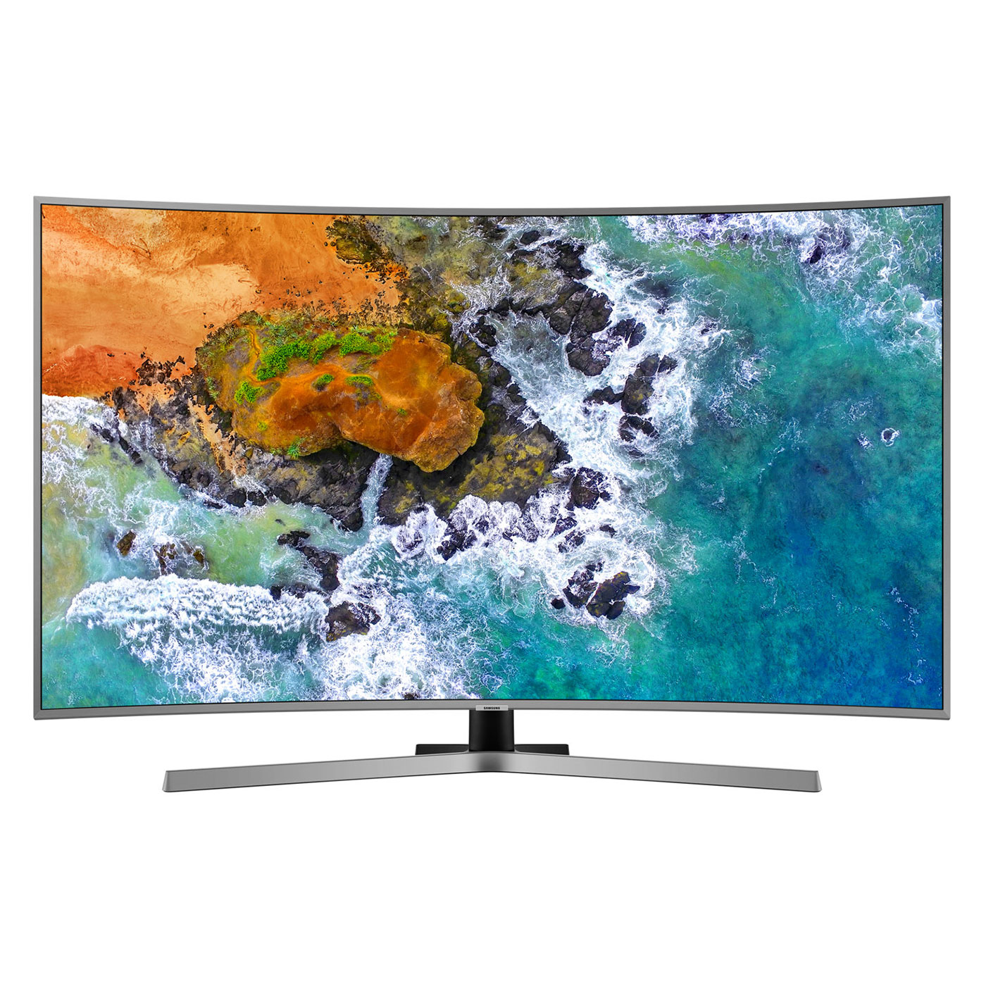 "TV Samsung UE55NU7645 Téléviseur incurvé LED 4K 55"" (140 cm) 16/9 - 3840 x 2160 pixels - Ultra HD - HDR - Wi-Fi - Bluetooth - 1900 PQI"
