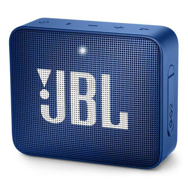 Dock & Enceinte Bluetooth JBL GO 2 Bleu  Mini enceinte portable sans fil Bluetooth et étanche avec fonction mains libres