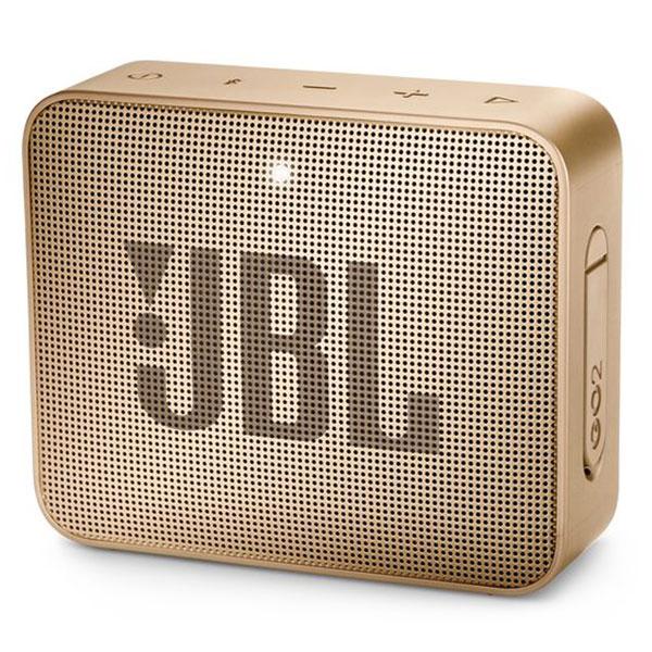 Dock & Enceinte Bluetooth JBL GO 2 Champagne  Mini enceinte portable sans fil Bluetooth et étanche avec fonction mains libres