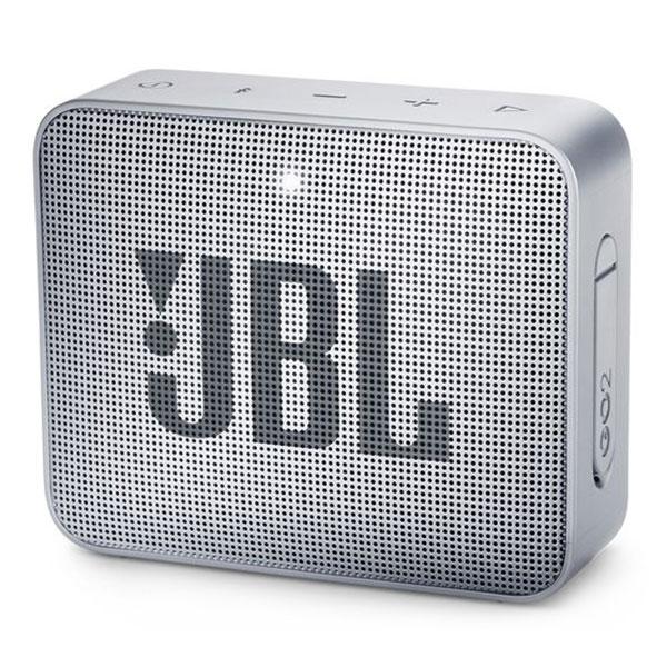 Dock & Enceinte Bluetooth JBL GO 2 Gris  Mini enceinte portable sans fil Bluetooth et étanche avec fonction mains libres