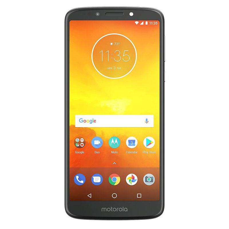 "Mobile & smartphone Motorola Moto E5 Gris Smartphone 4G-LTE Dual SIM - Snapdragon 425 Quad-Core 1.4 GHz - RAM 2 Go - Ecran tactile 5.7"" 720 x 1440 - 16 Go - Bluetooth 4.2 - 4000 mAh - Android 8.0"