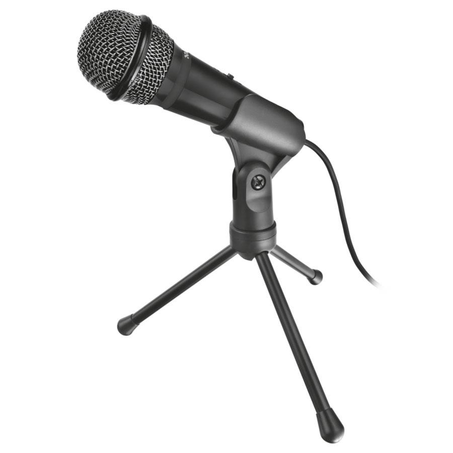 Microphone Trust Starzz Microphone à main avec trépied