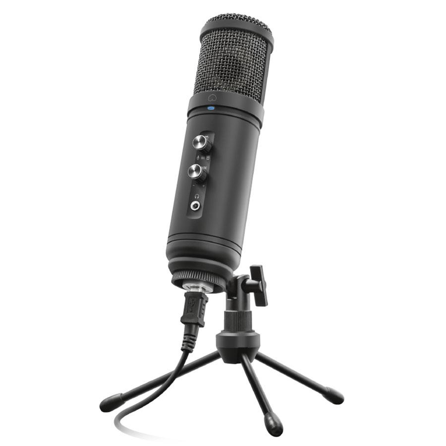 Microphone Trust Signa Microphone de studio à directivité cardioïde