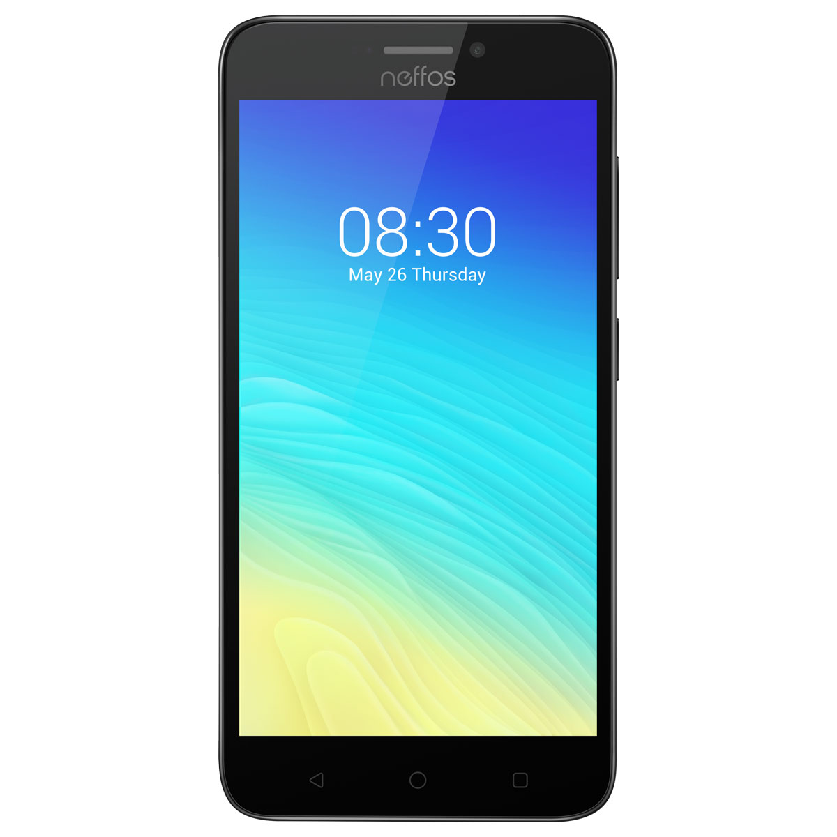 "Mobile & smartphone Neffos Y5S Gris ciel Smartphone 4G-LTE Dual SIM - Snapdragon 212 Quad-Core 1.3 GHz - RAM 2 Go - Ecran tactile 5"" 720 x 1280 - 16 Go - Bluetooth 4.1 - 2450 mAh - Android 7.1"