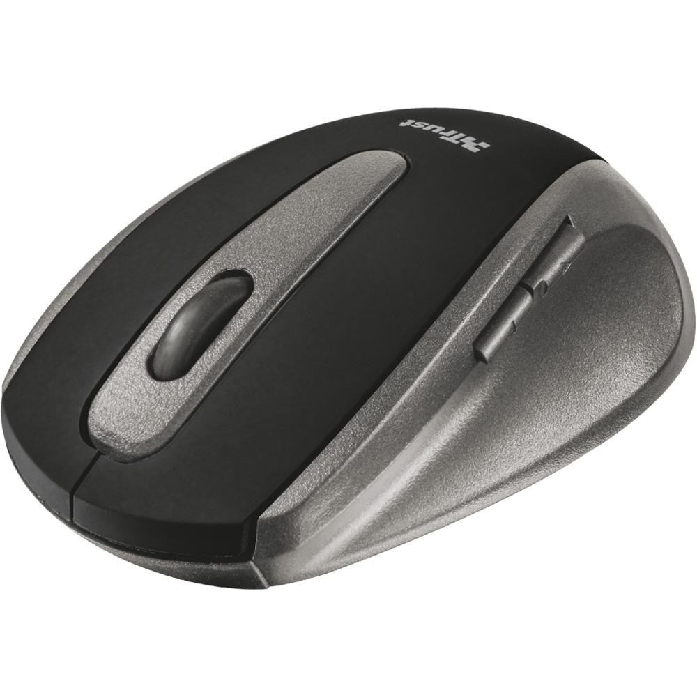 Souris PC Trust Easyclick Wireless Souris sans fil RF - droitier - capteur optique 1000 dpi - 5 boutons