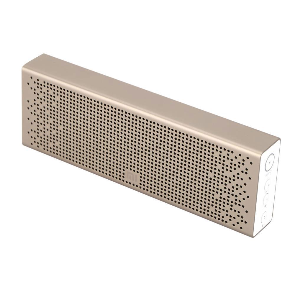 Dock & Enceinte Bluetooth Xiaomi Mi Bluetooth Speaker Or Enceinte Bluetooth 2 x 3W microphone intégré