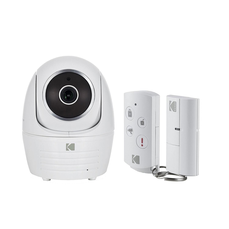 camra de surveillance kodak camra de scurit ip101wg starter kit camra de surveillance full hd sans