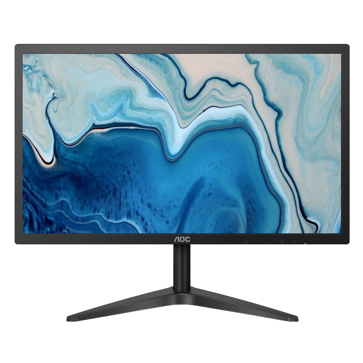 "Ecran PC AOC 21.5"" LED - 22B1H 1920 x 1080 pixels  - 5 ms - Format large 16/9 - HDMI - VGA - Noir"