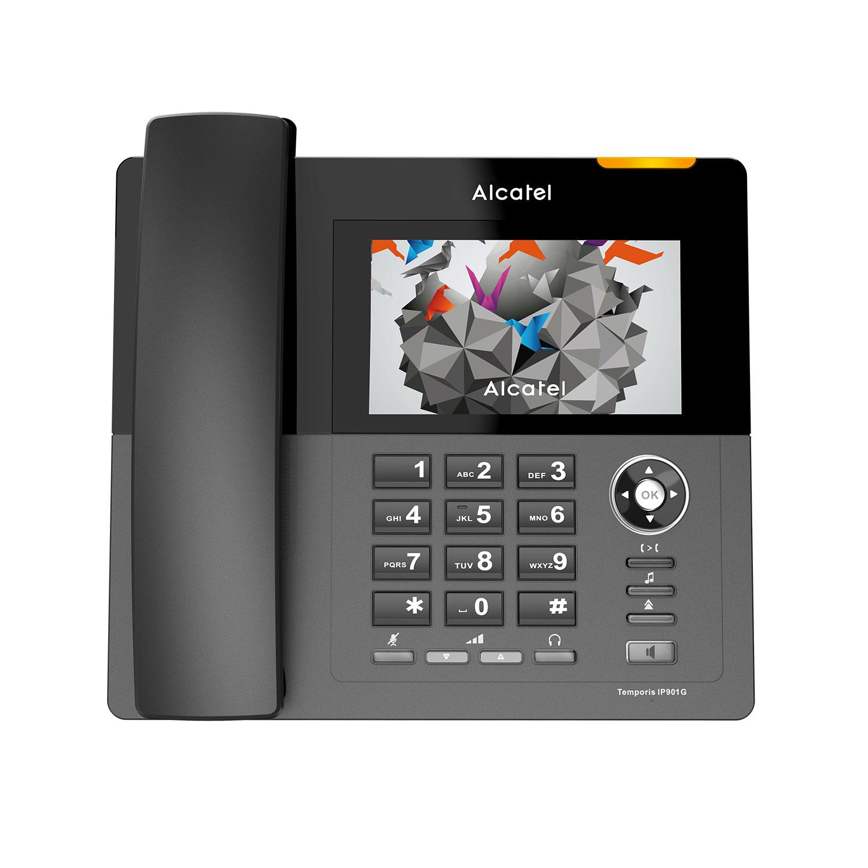 fad490cebcaa31 Téléphone filaire Alcatel Temporis IP901G Terminal SIP avec base DECT  embarquée et 2 ports Gigabit -