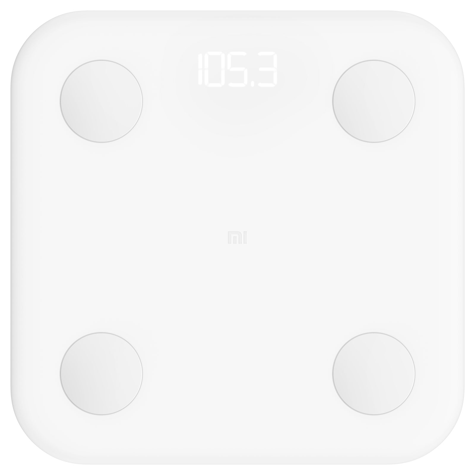 Balance connectée Xiaomi Mi Body Composition Scale Balance connectée avec composition corporelle, sauvegarde 16 utilisateurs, Bluetooth (iOS et Android)