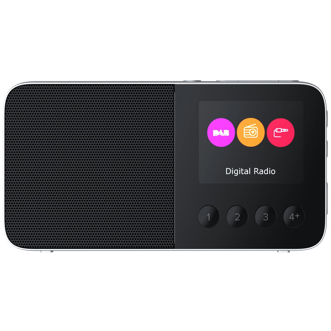 Radio & radio réveil Pure Move T4 Noir Radio numérique portable DAB+ / FM avec Bluetooth