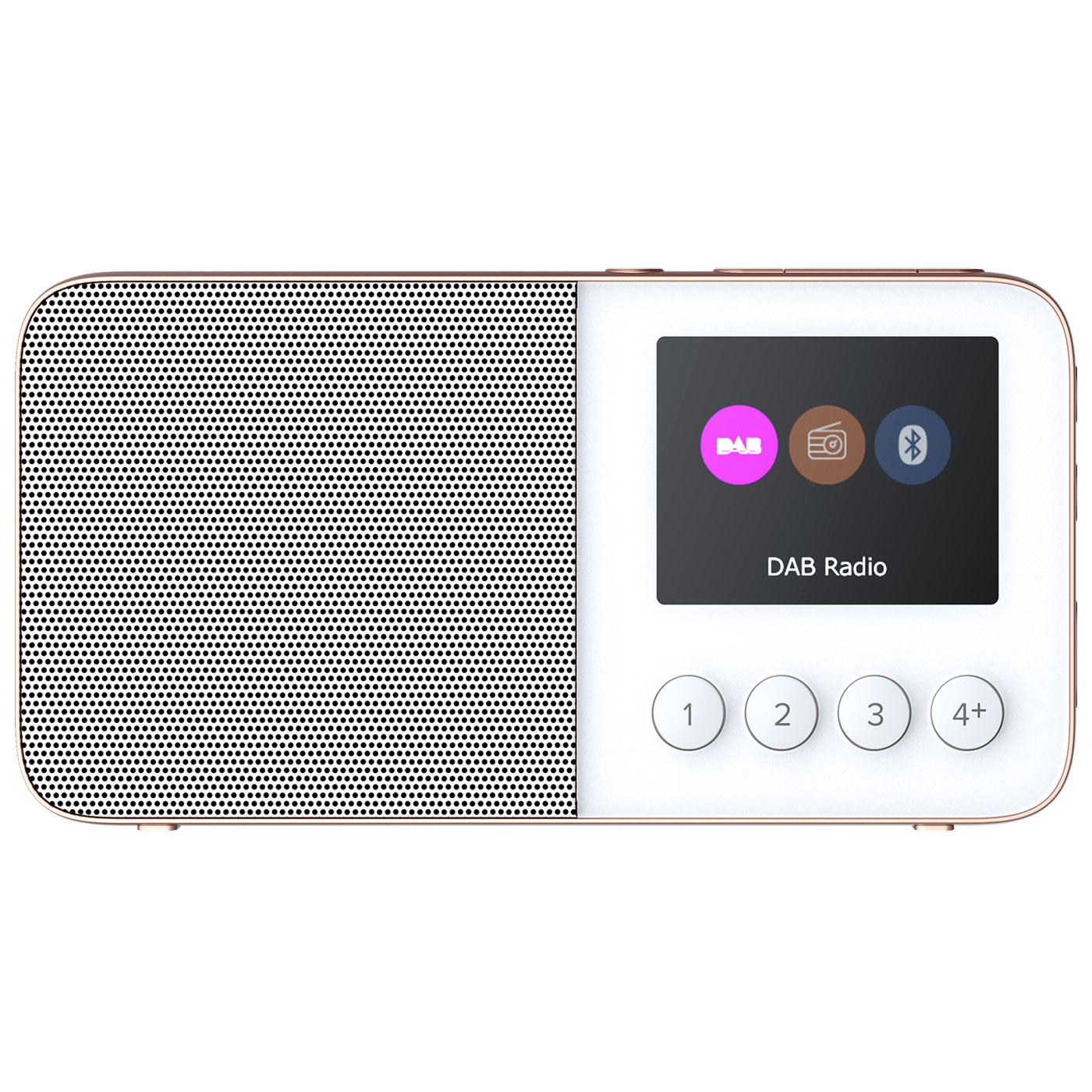 Radio & radio réveil Pure Move T4 Blanc Radio numérique portable DAB+ / FM avec Bluetooth