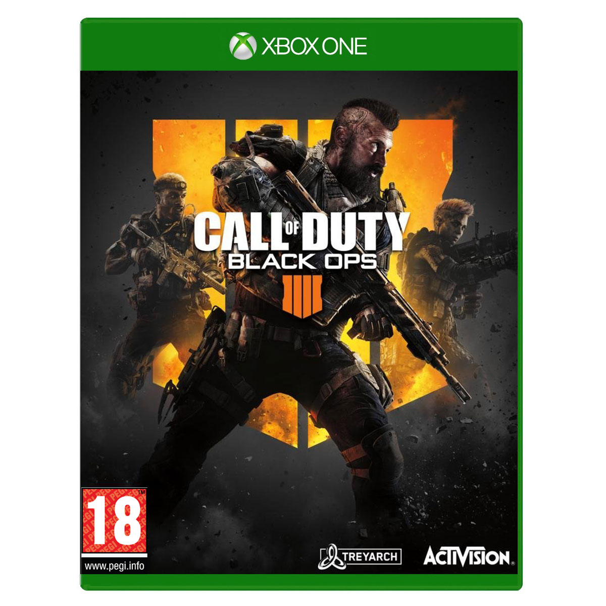 Jeux Xbox One Call of Duty : Black Ops 4 (Xbox One) Call of Duty : Black Ops 4 (Xbox One)