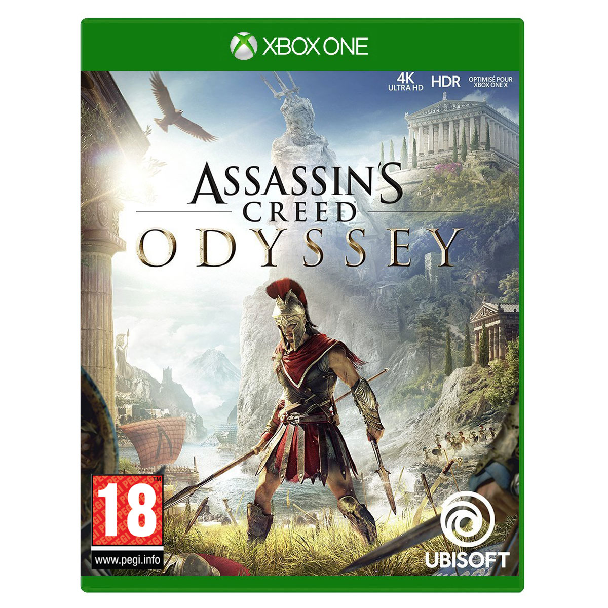 Jeux Xbox One Assassin's Creed Odyssey (Xbox One) Assassin's Creed Odyssey (Xbox One)