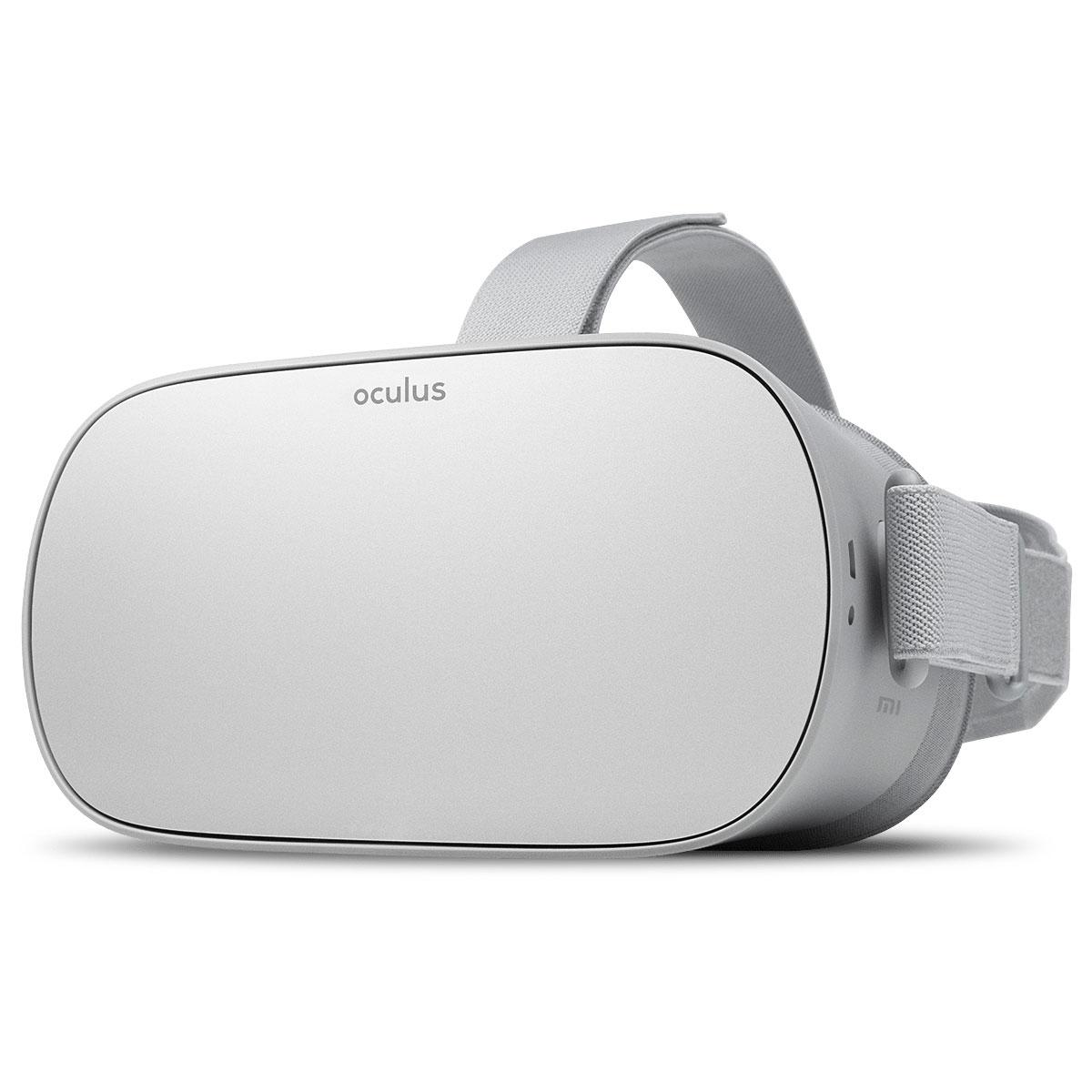 Casque Réalité Virtuelle Oculus GO 32 Go Casque de réalité virtuelle autonome sans PC ni Smartphone avec Manette sans fil et 32 Go de stockage