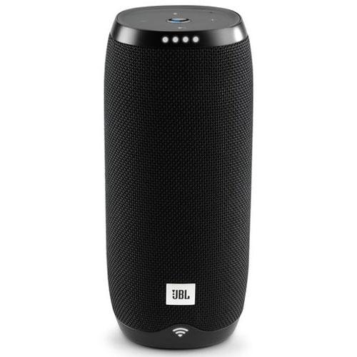 Dock & Enceinte Bluetooth JBL Link 20 Noir Enceinte portable stéréo 2 x 10 W, conception étanche IPX7, autonomie 10h, Assistant Google, Wi-Fi, Bluetooth et Chromecast
