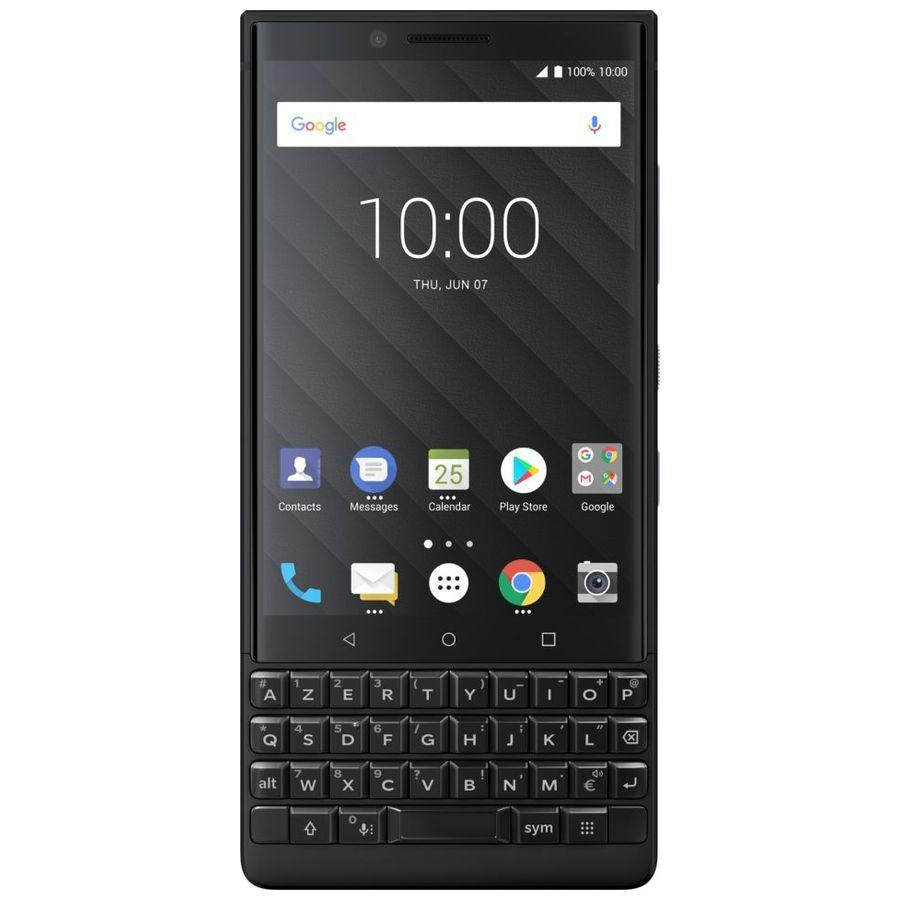 "Mobile & smartphone BlackBerry KEY2 Noir (6 Go / 128 Go) Smartphone 4G-LTE Advanced AZERTY Dual SIM - Snapdragon 660 8-Core 2.2 GHz - RAM 6 Go - Écran tactile 4.5"" 1080 x 1620 - 128 Go - NFC/Bluetooth 5.0 - 3500 mAh - Android 8.1"