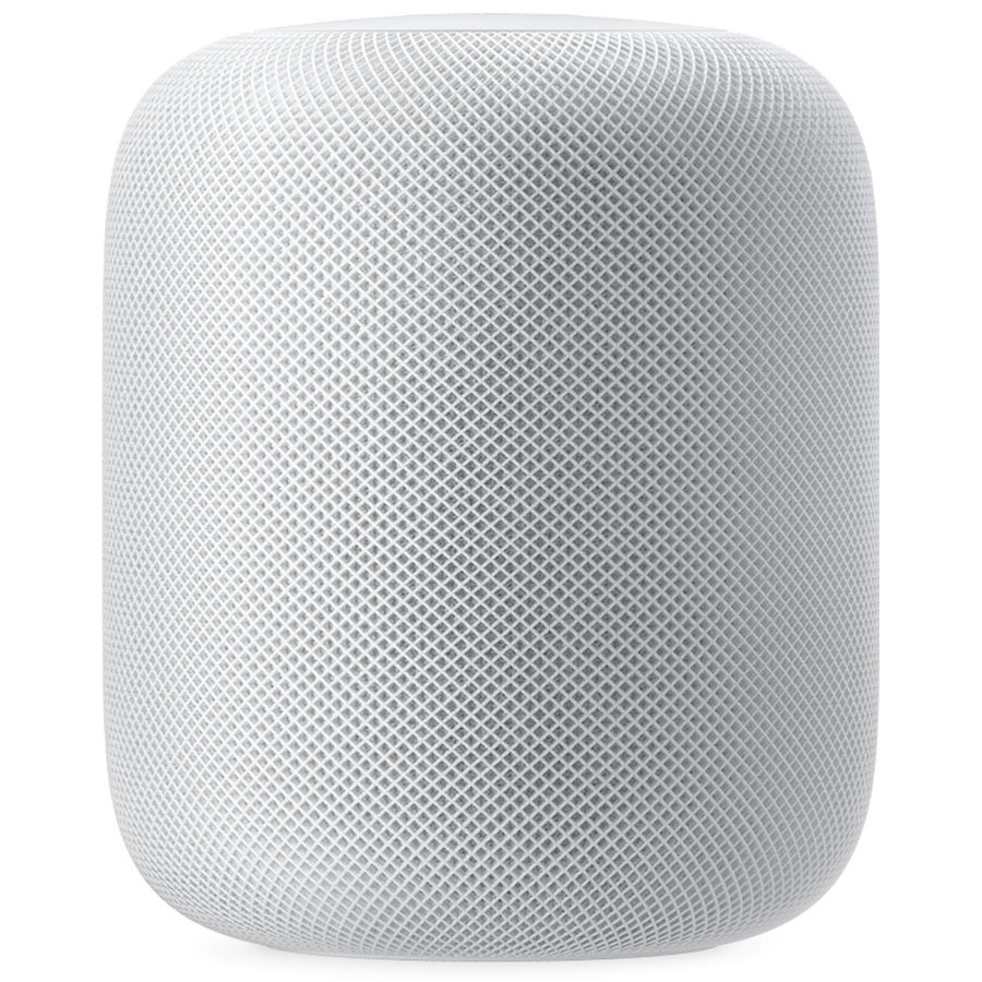 Dock & Enceinte Bluetooth Apple HomePod Blanc Enceinte sans fil Wi-Fi / Bluetooth / AirPlay 2 à commande vocale avec Siri