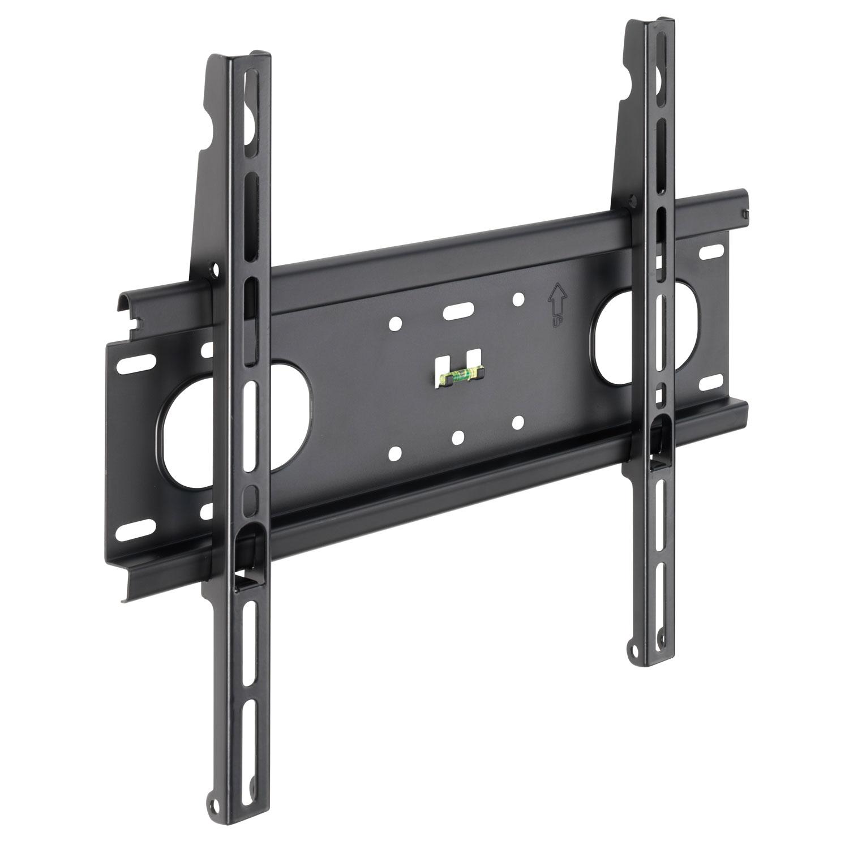 meliconi 400f noir support mural tv meliconi sur. Black Bedroom Furniture Sets. Home Design Ideas