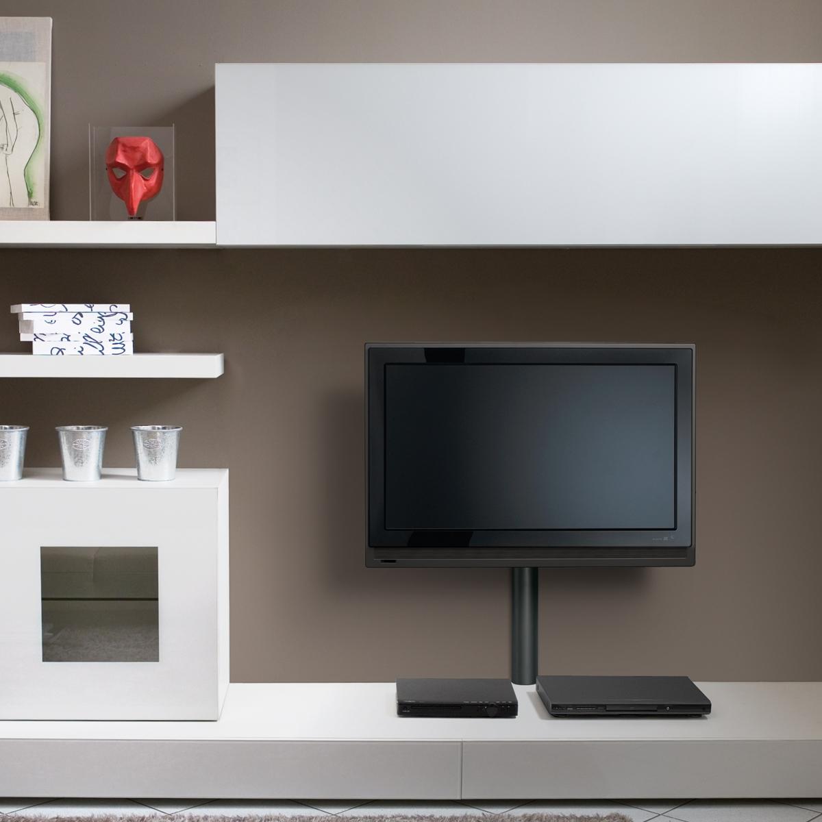 meliconi cable cover 65 maxi noir support mural tv meliconi sur. Black Bedroom Furniture Sets. Home Design Ideas