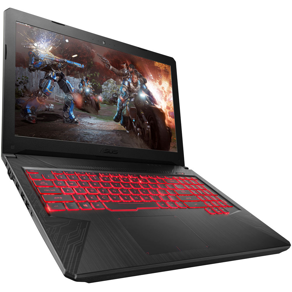 "PC portable ASUS TUF504GD-DM237T Intel Core i7-8750H 8 Go SSD 128 Go + HDD 1 To 15.6"" LED Full HD NVIDIA GeForce GTX 1050 2 Go Wi-Fi AC/Bluetooth Webcam Windows 10 Famille 64 bits (garantie constructeur 2 ans)"