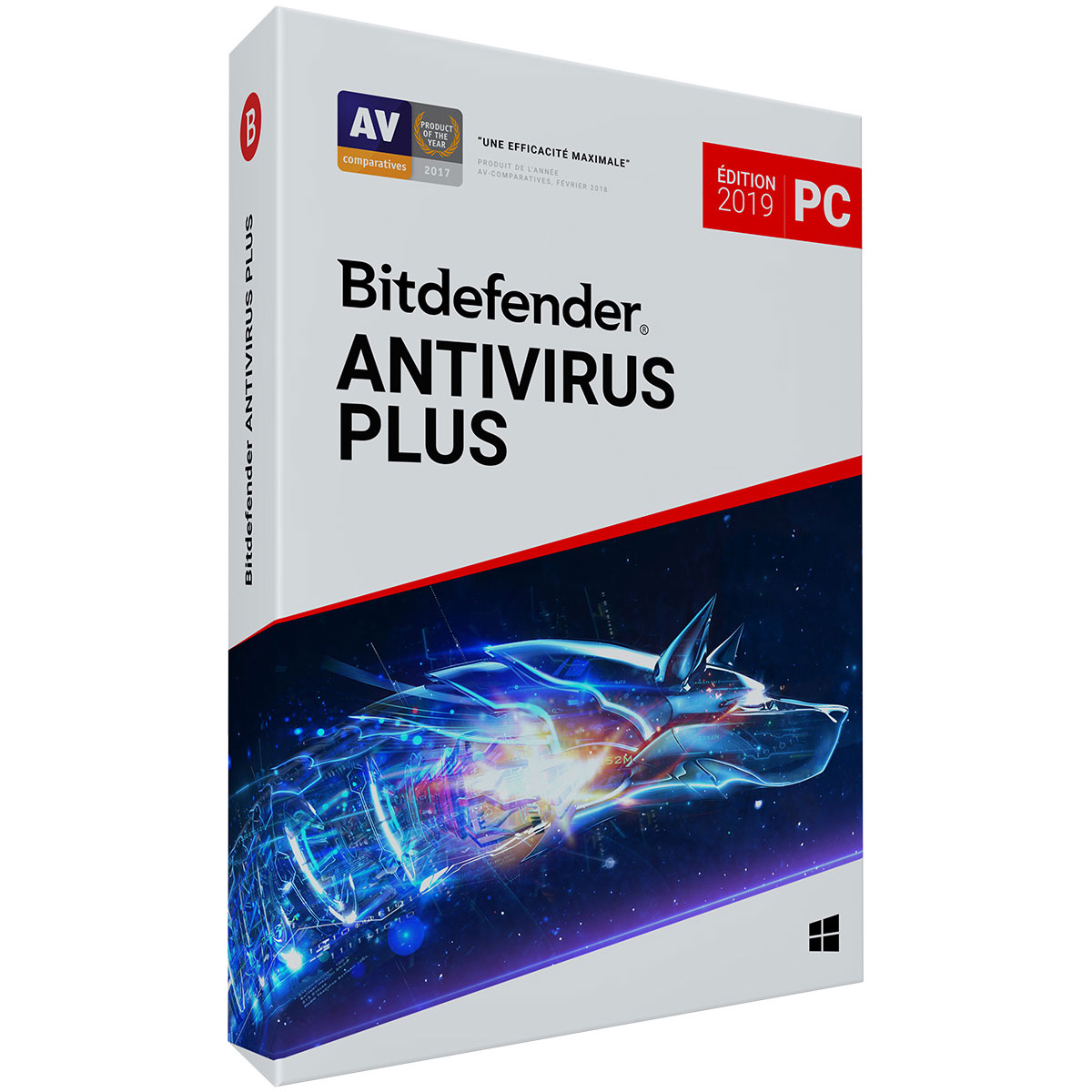 bitdefender antivirus plus 2019 2 ans 3 postes logiciel s curit bitdefender sur. Black Bedroom Furniture Sets. Home Design Ideas