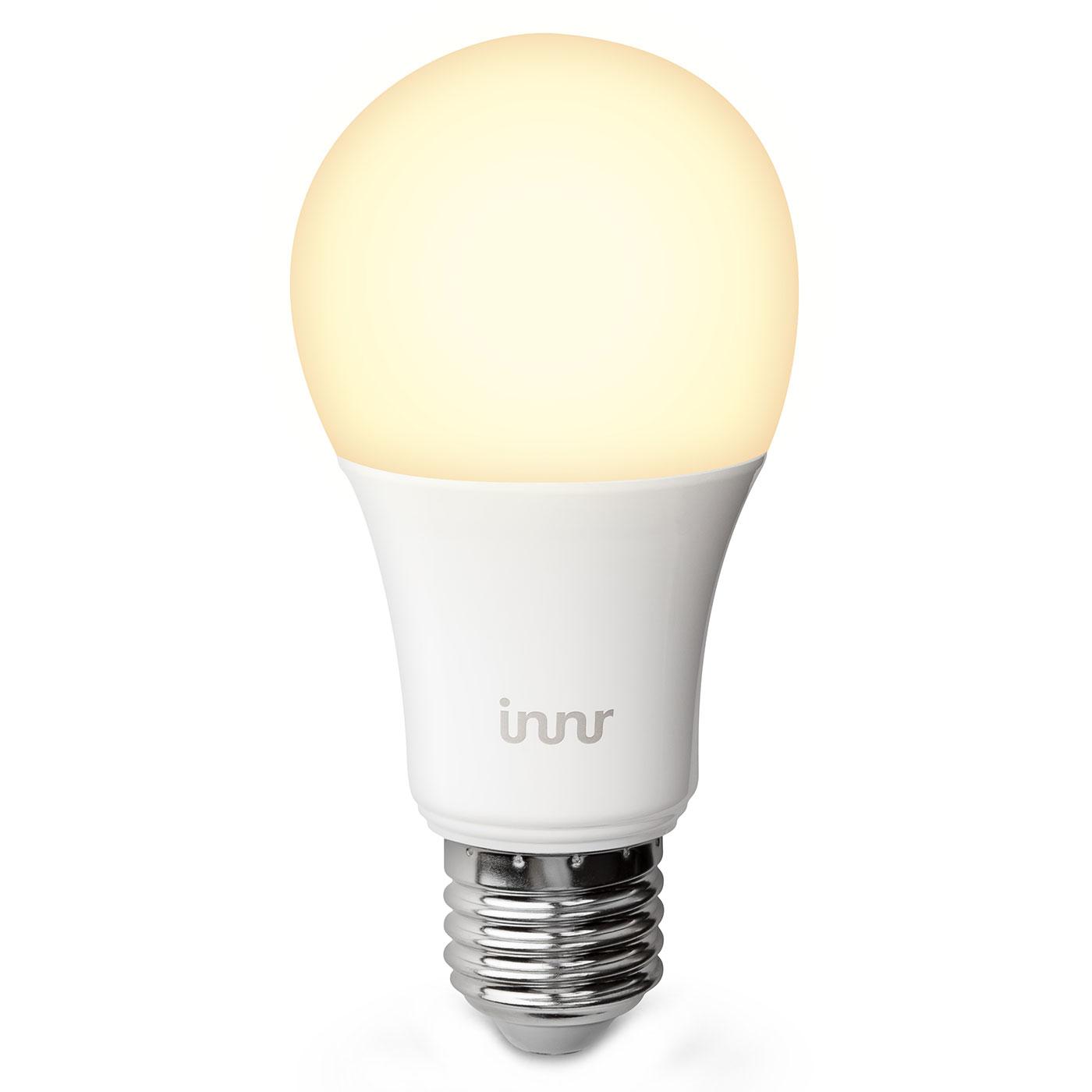 innr lightning smart bulb e27 b22 blanc chaud ampoule connect e innr sur. Black Bedroom Furniture Sets. Home Design Ideas