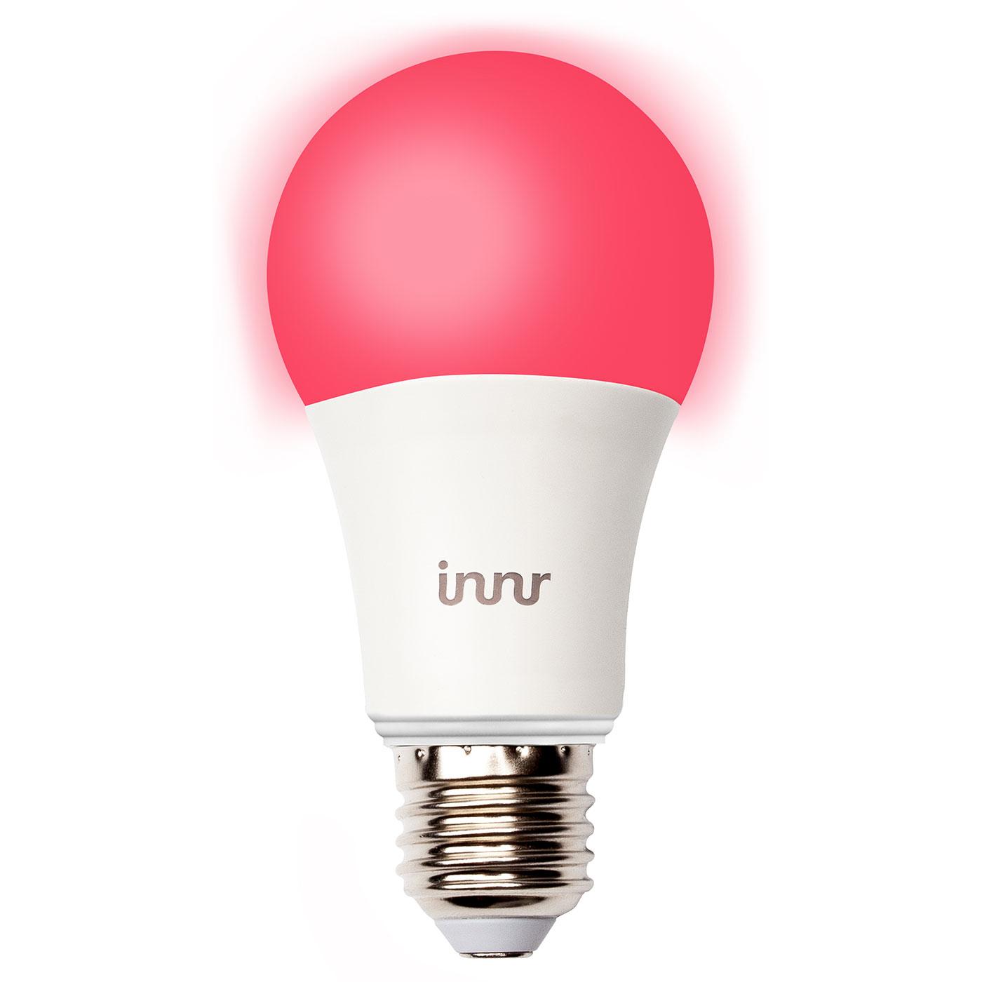 innr lightning smart bulb e27 blanc couleur ampoule connect e innr sur. Black Bedroom Furniture Sets. Home Design Ideas