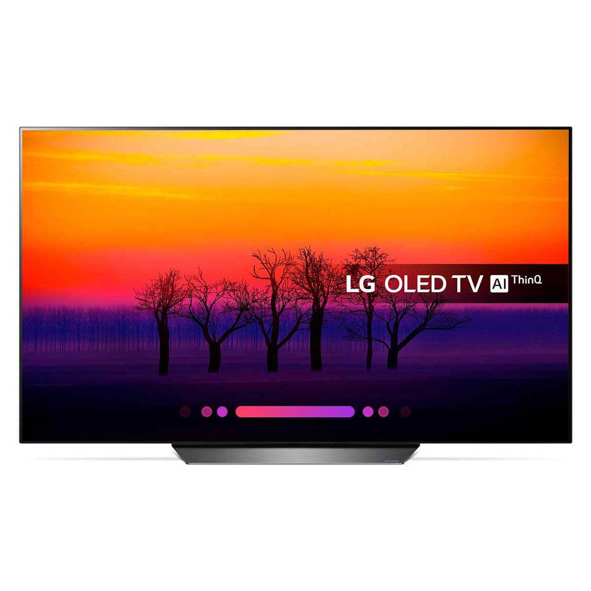 "TV LG OLED55B8 Téléviseur OLED 4K 55"" (140 cm) 16/9 - 3840 x 2160 pixels - Ultra HD 2160p - HDR - Wi-Fi - Bluetooth - Dolby Atmos"