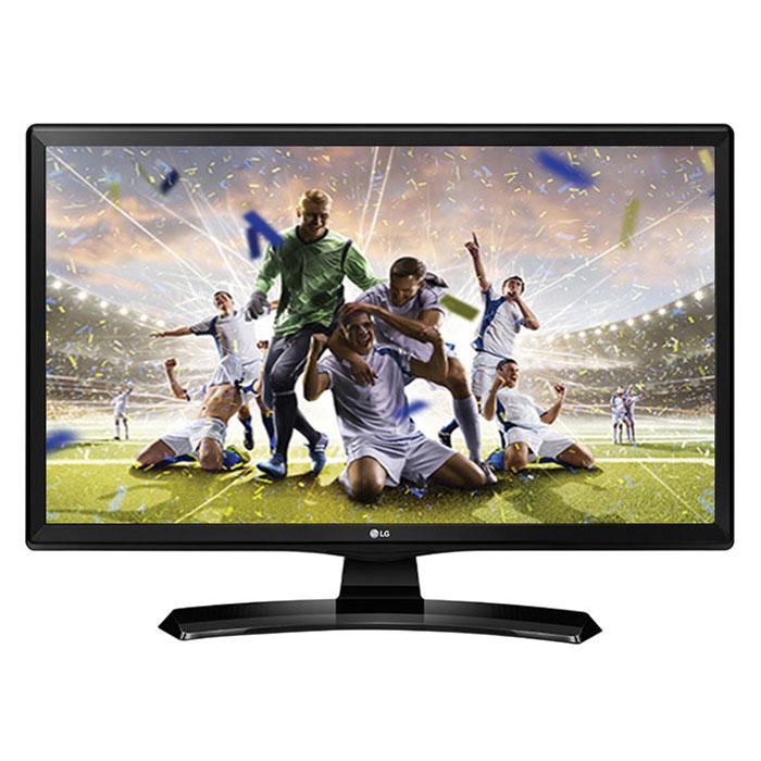 "TV LG 24MT49VF Téléviseur LED HD 24"" (61 cm) 16/9 - 1366 x 768 pixels - HDTV - HDMI - USB"