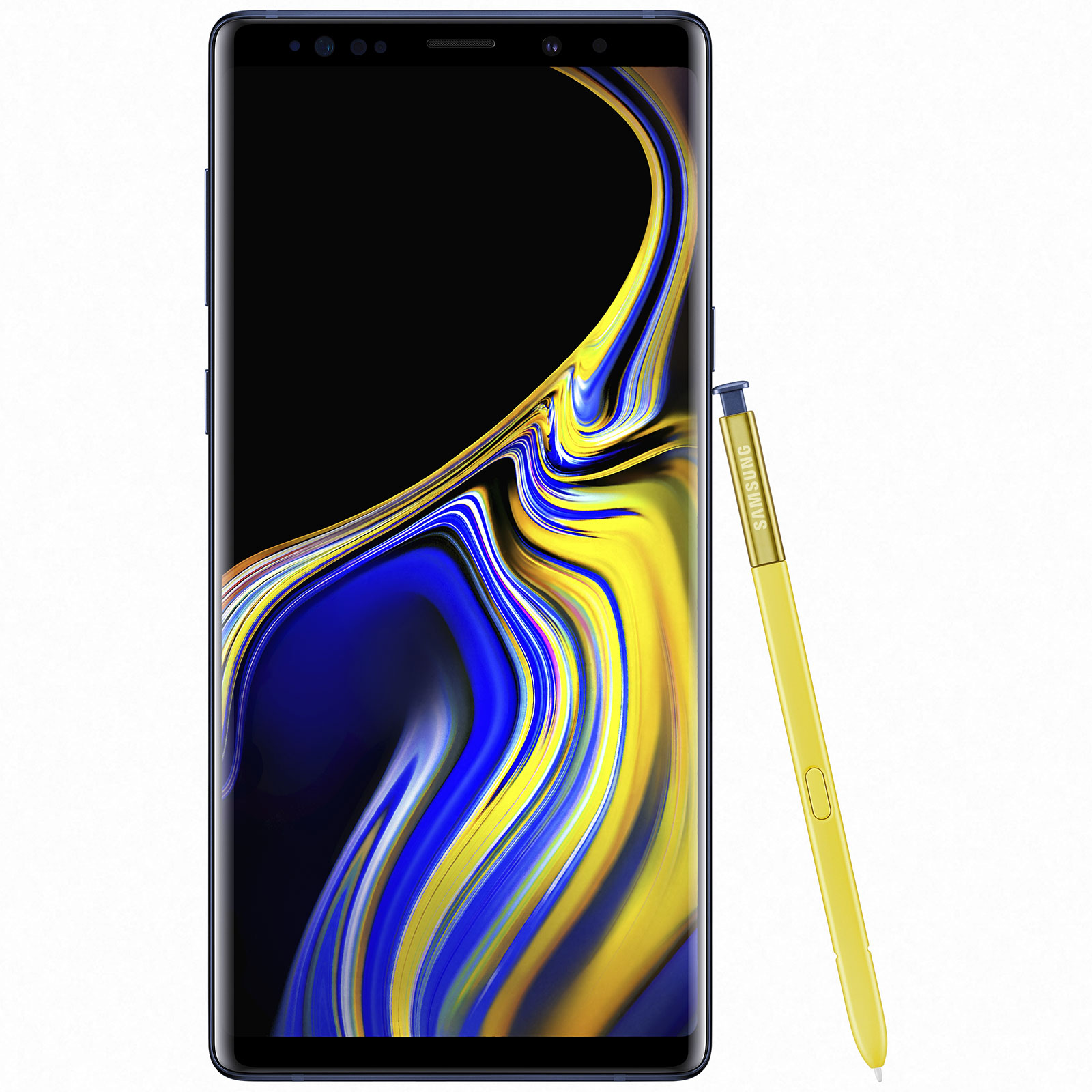 "Mobile & smartphone Samsung Galaxy Note 9 SM-N960 Bleu Cobalt (6 Go / 128 Go) Smartphone 4G-LTE Advanced IP68 Dual SIM - Exynos 9810 8-Core 2.8 Ghz - RAM 6 Go - Ecran tactile 6.4"" 1440 x 2960 - 128 Go - NFC/Bluetooth 5.0 - 4000 mAh - Android 8.1"