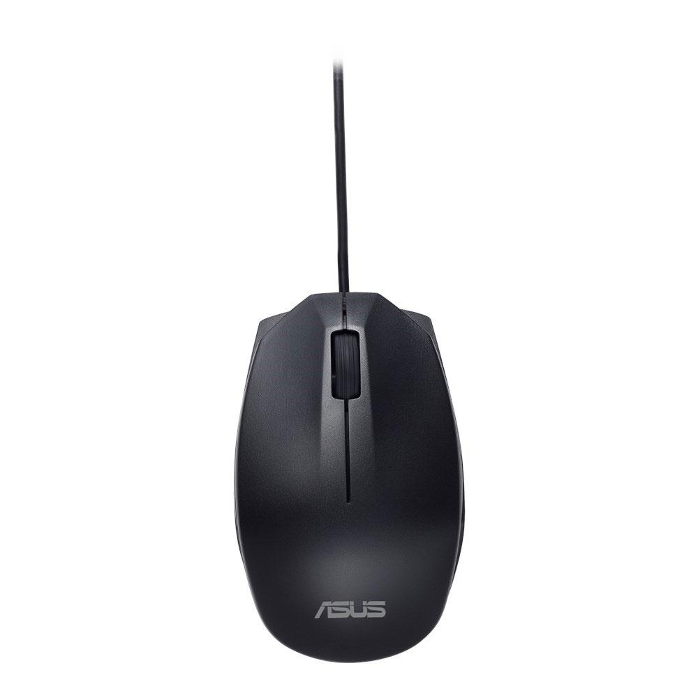 Souris PC ASUS UT280 Noir Souris filaire compacte - ambidextre - capteur optique 1000 dpi - 3 boutons - USB