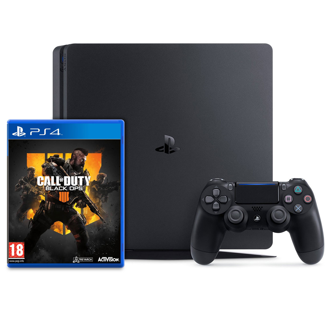 Sony playstation 4 slim 1 to call of duty black ops 4 console ps4 sony interactive - Nouvelle console de jeux ...