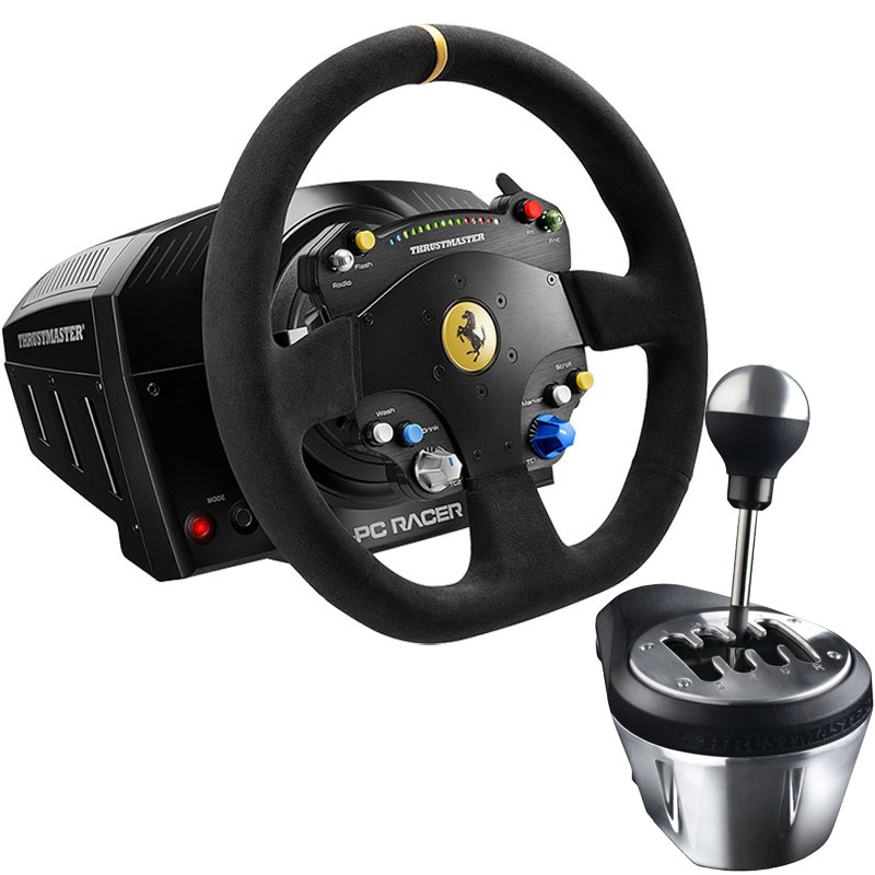 thrustmaster ts pc racer 488 challenge edition th8a add. Black Bedroom Furniture Sets. Home Design Ideas
