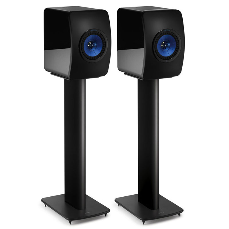 kef performance noir pied support enceinte kef sur. Black Bedroom Furniture Sets. Home Design Ideas