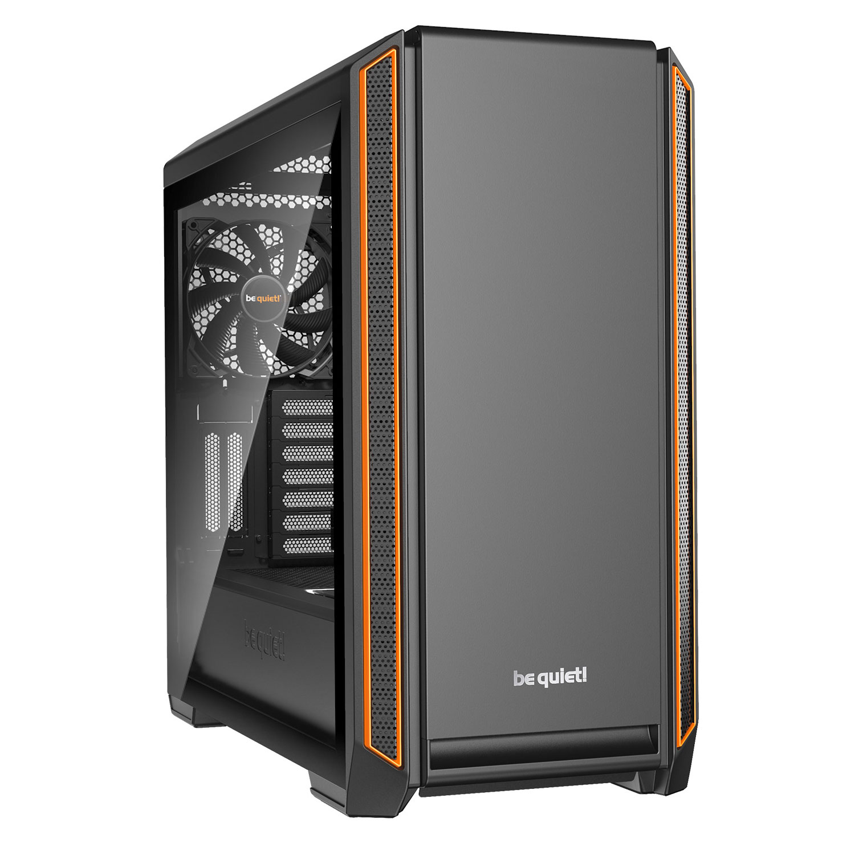 Boîtier PC be quiet! Silent Base 601 Window (Orange) Boîtier moyen tour avec fenêtre latérale en verre trempé