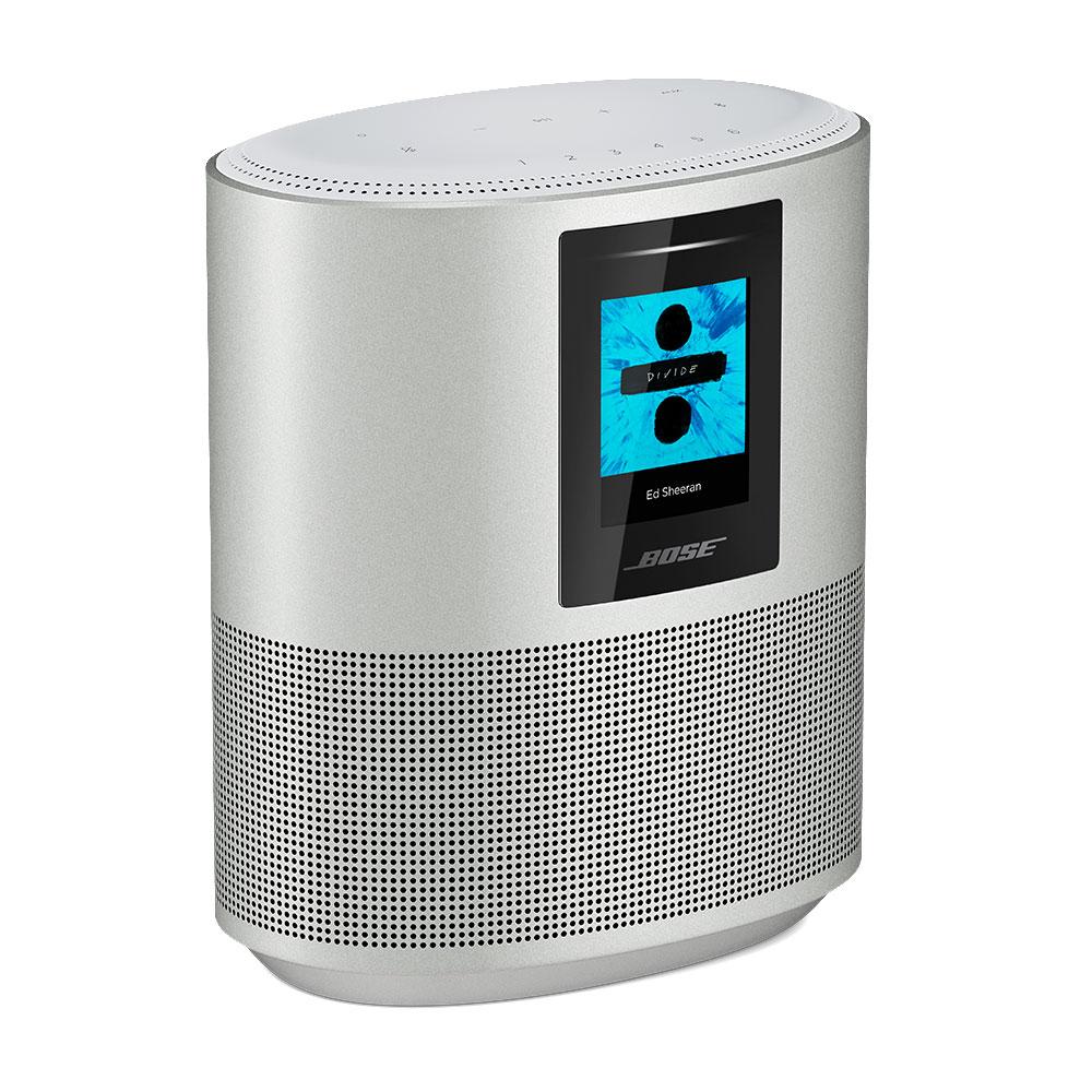 Dock & Enceinte Bluetooth Bose Home Speaker 500 Luxe Silver Enceinte sans fil Wi-Fi et Bluetooth à commande vocale avec Amazon Alexa
