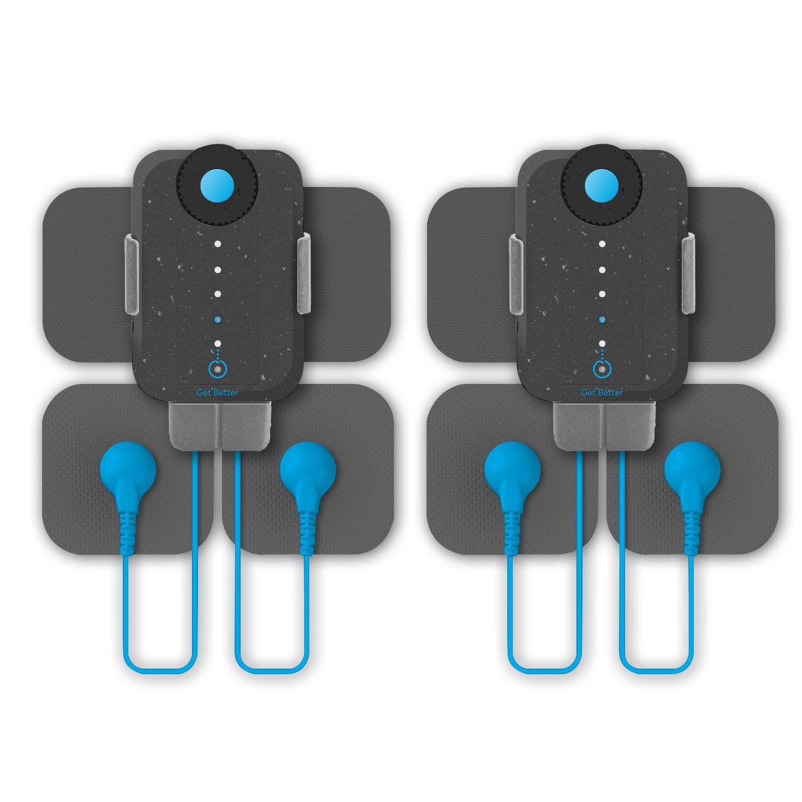 Bracelet connecté Bluetens Duo Sport Electrostimulateur connecté avec électrodes, adaptateur sans fil et sacoche de transport