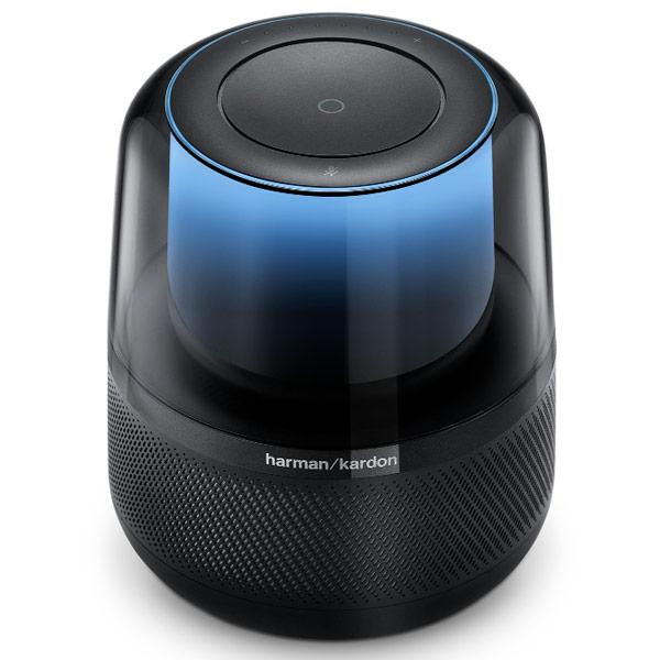Dock & Enceinte Bluetooth Harman Kardon Allure Enceinte sans fil Wi-Fi et Bluetooth à commande vocale avec Amazon Alexa et éclairage ambiant